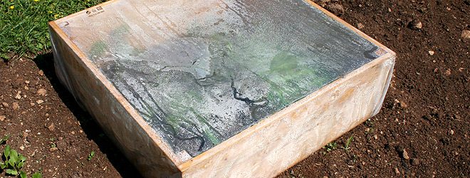 Cold frame harden off