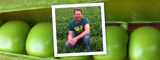 Pea expert phil grooby