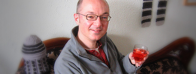 Ben Hardy Home Made Wine Maker and Author