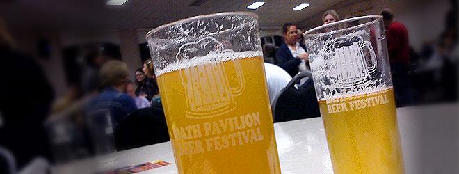 Bath Pavilion Beer and Cider Festival 2012