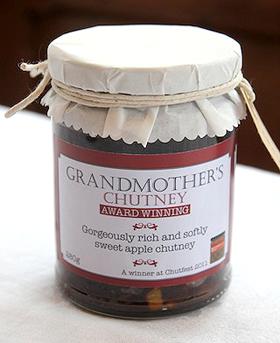Grandmothers Chutney Jar