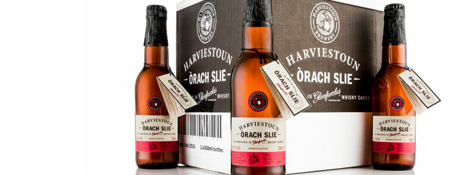 Harviestoun whisky lager