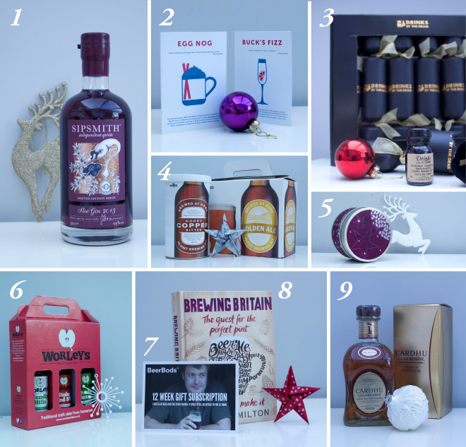 Drink gifts for Christmas