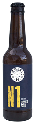 Hammerton N1 Pale Ale bottle