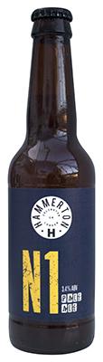 Hammerton N1 Pale Ale bottle