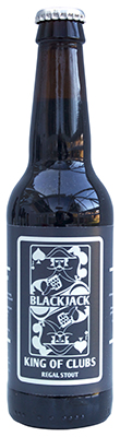 BlackJack Stout Bottle