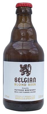 M&S Belgian Blond Beer