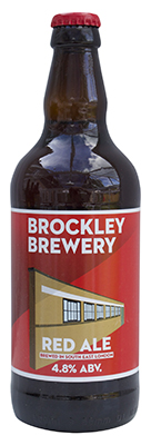 Brockley Red Ale Bottle