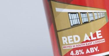 Brockley Red Ale Label