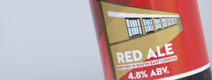 Brockley Red Ale Label