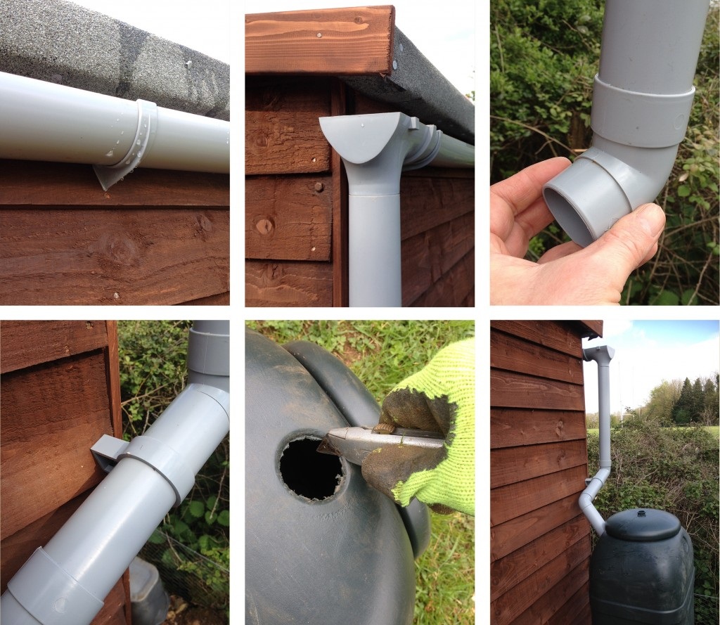 How To Put Up Shed Guttering Two Thirsty Gardeners