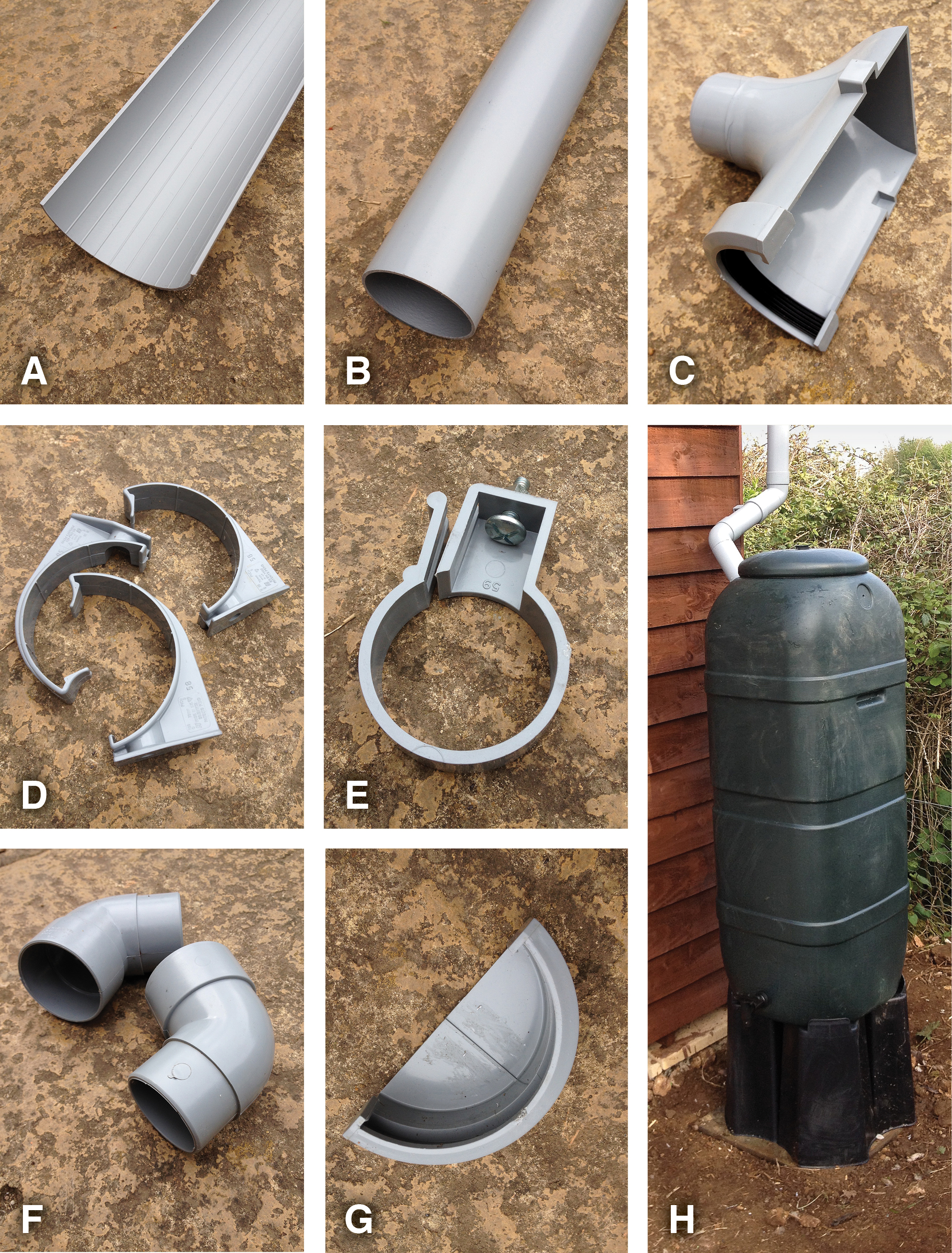 How to put up shed guttering - Two Thirsty Gardeners