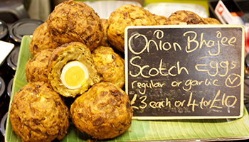 Onion Bhaji Scotch Egg