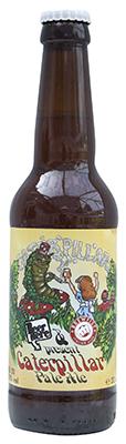 Caterpillar Beer Bottle