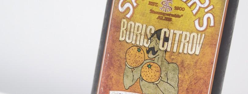 Sadlers Boris Citrov Label