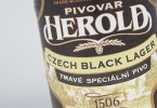 pivovar herold black lager label