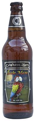 Scarlet Macaw beer bottle