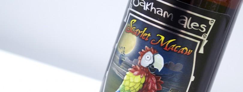 Scarlet Macaw beer label