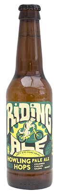 Riding Ale Howling Hops Bottle