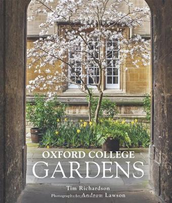 Oxford College Gardens Book Cover