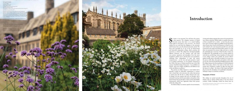 Oxford College Gardens Spread