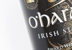 OHaras Irish Stout Label