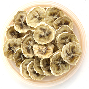 Dehydrating bananas fruit