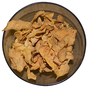 dehydrating sweet potato crisps