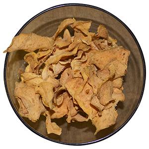 dehydrating sweet potato crisps