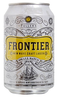 Can of Fuller's Frontier