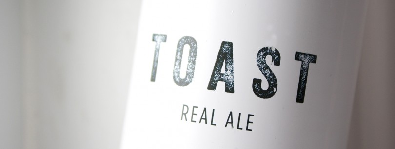 Toast Real Ale Label