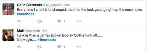 Funky tweets