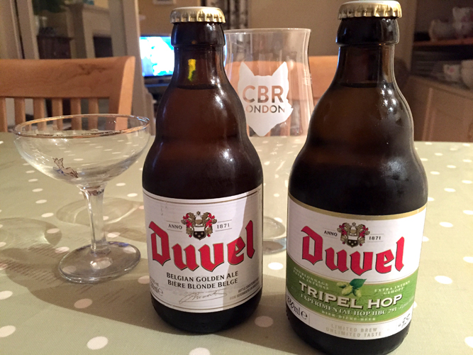 Duvel tripel hop glass