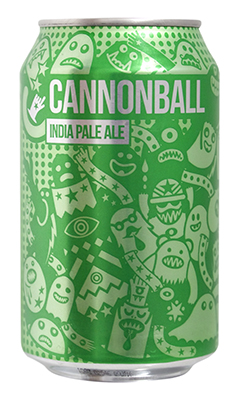 Magic Rock Cannonball green can