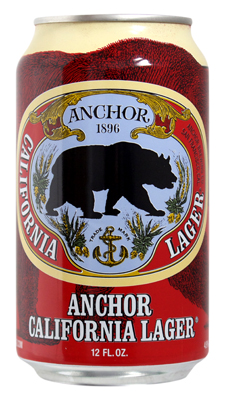 Anchor Lager Tesco Can