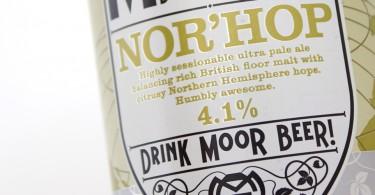 Moor Nor Hop Label