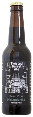 Twisted Barrel Ale Beast of Midlands Mild Bottle