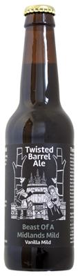 Twisted Barrel Ale Beast of Midlands Mild Bottle