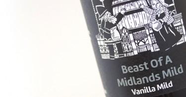 Twisted Barrel Ale Beast of Midlands Mild Vanilla Label