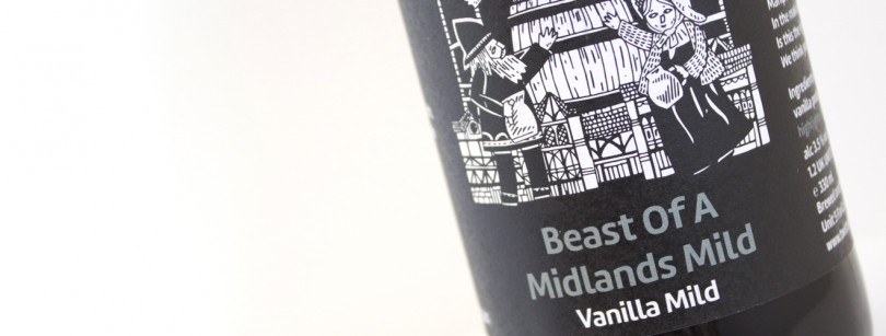Twisted Barrel Ale Beast of Midlands Mild Vanilla Label