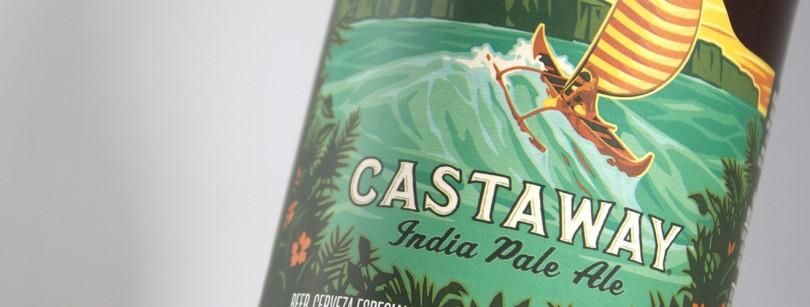 Kona Castaway Label