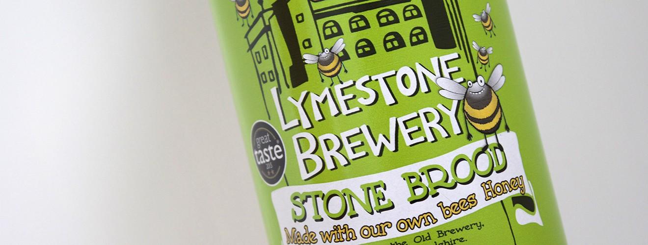Lymestone Stone Brood Honey Label