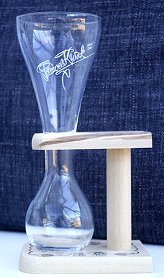 Pauwel Kwak Glass and Holder