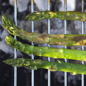 How to barbecue asparagus