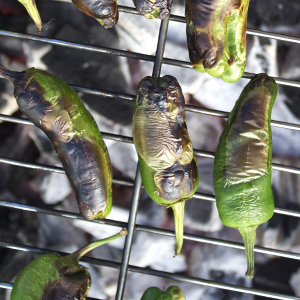 How to barbecue peppers