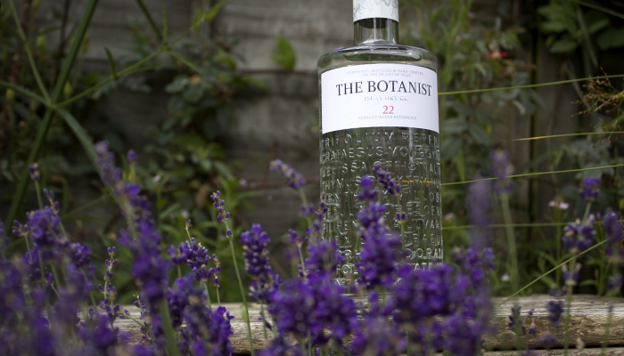 The Botanist Gine Bottle Flowers