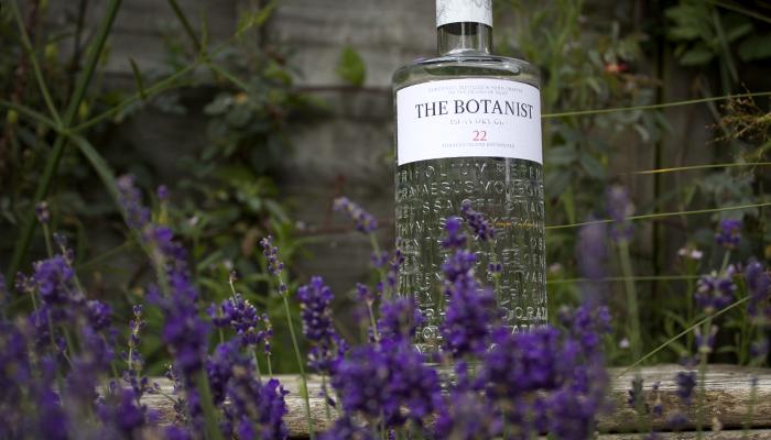 The Botanist Gine Bottle Flowers