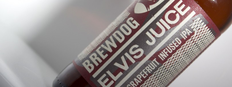 BreDog Elvis Juice Grapefruit Label