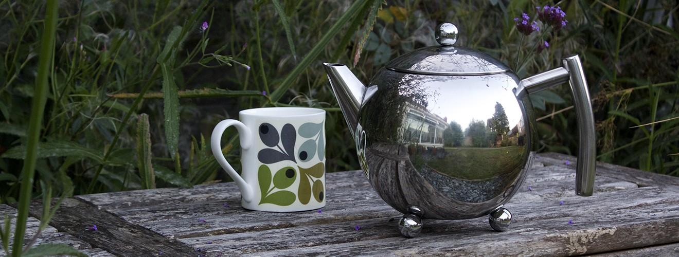 Infusion Tea Pot Mint Cup