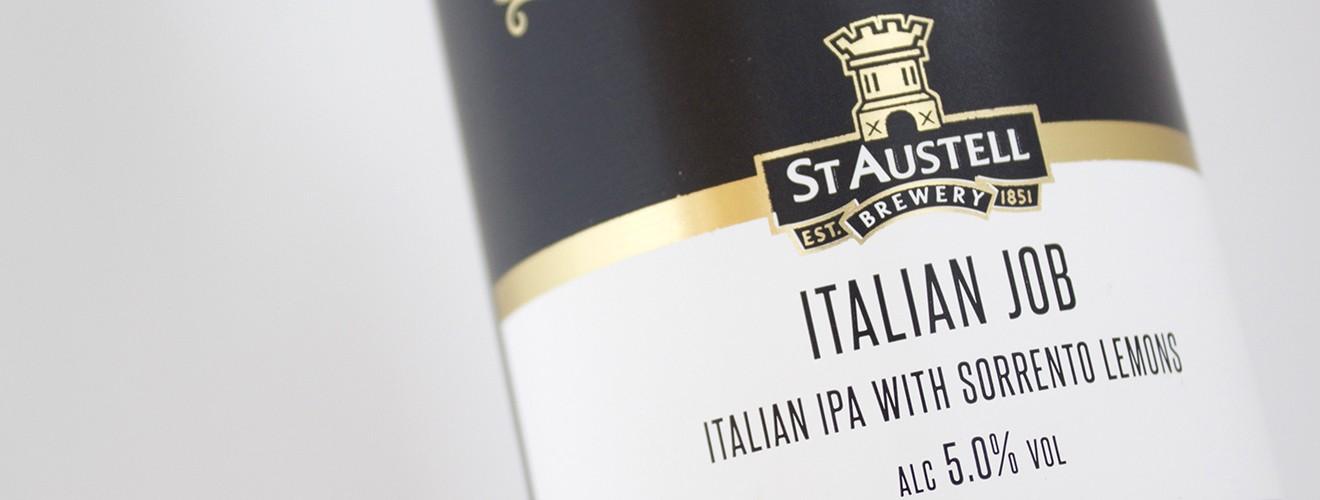 St Austell Italian Job Bottle